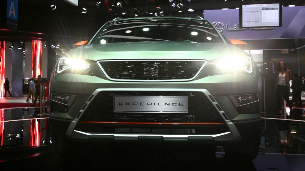 Seat Ateca X-Perience 2017 frontal