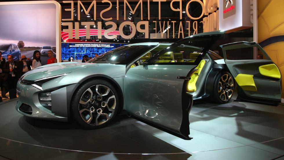 Citroën CXperience Concept Salón París 2016 delantera