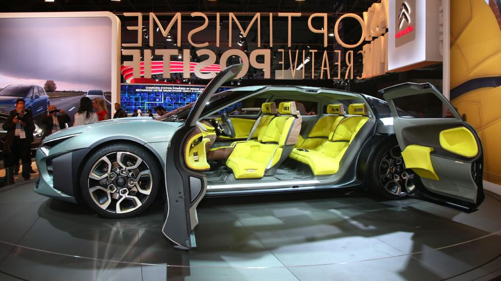 Citro n cxperience concept la berlina del futuro en for Salon a paris 2016