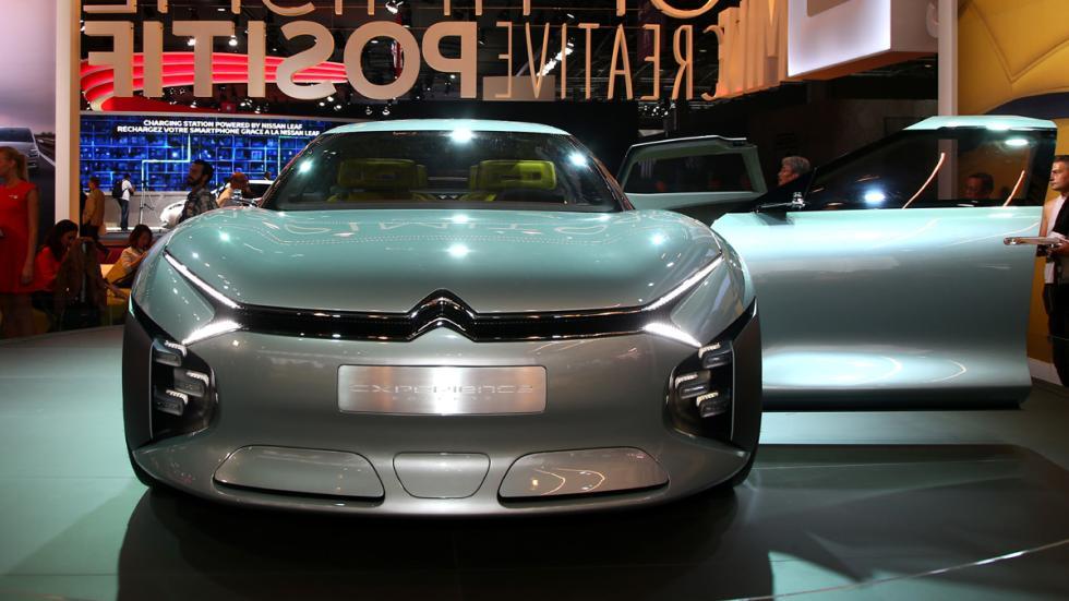 Citroën CXperience Concept Salón París 2016 morro