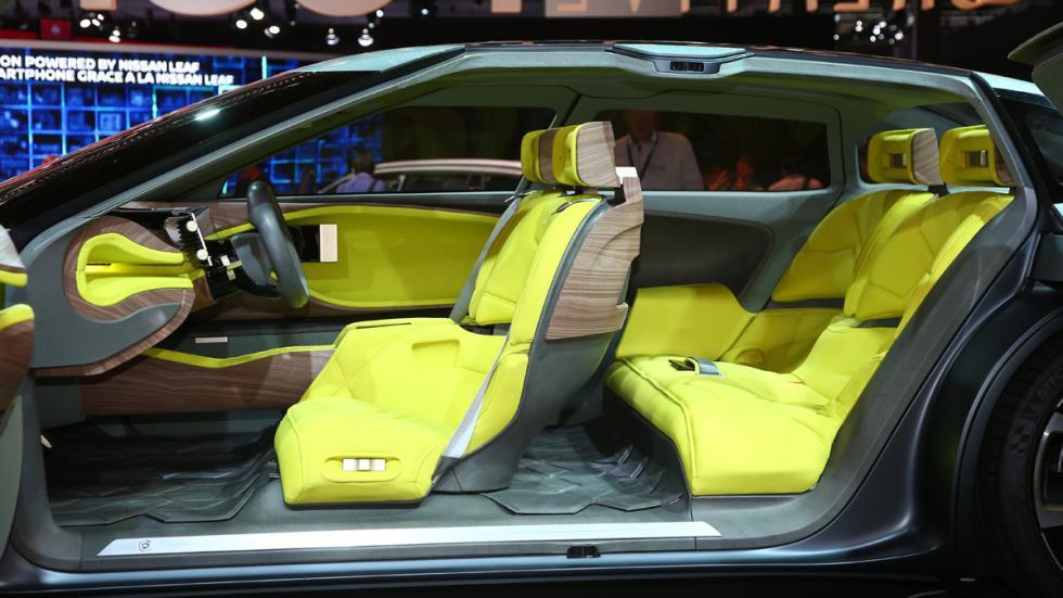 Citroën CXperience Concept Salón París 2016 habitáculo