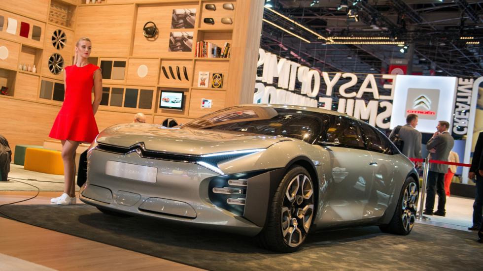 Citroën CXperience Concept Salón París 2016 delantera tres cuartos
