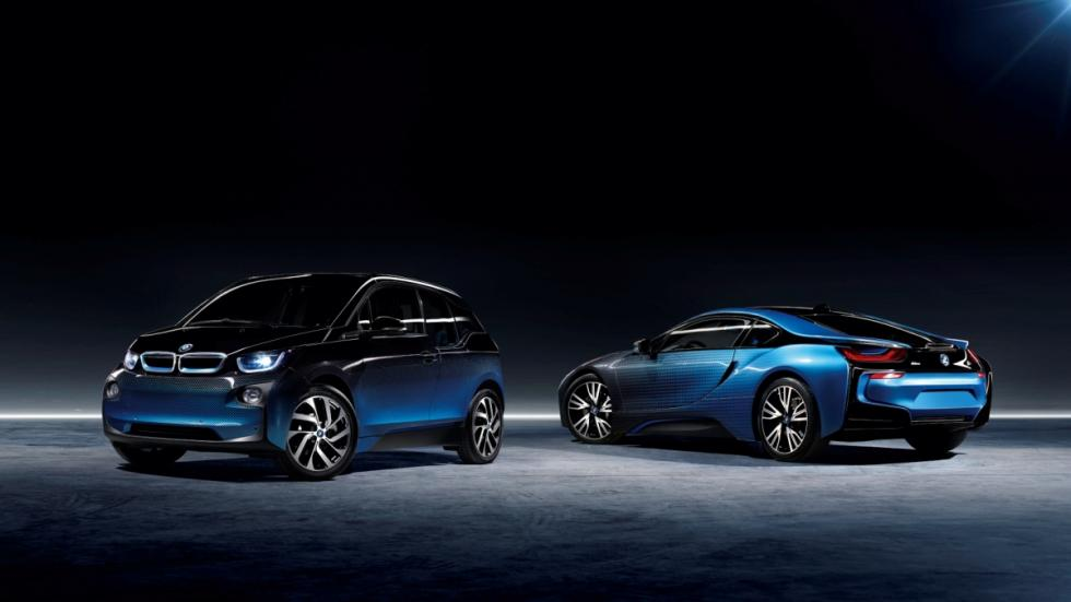BMW i3 BMW i8 Garage Italia CrossFade