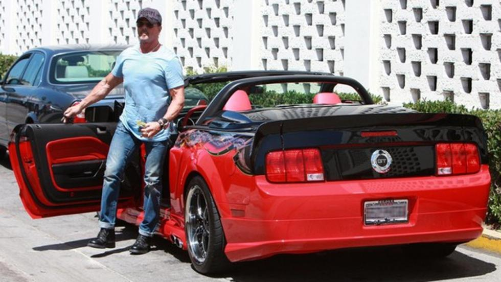 Los coches de Sylvester Stallone: Ford Mustang