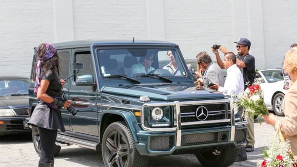Los coches de Sylvester Stallone: Mercedes G63 AMG