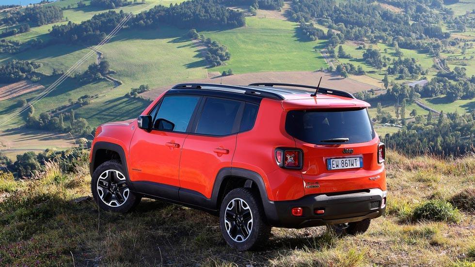 Jeep Renegade SUV compacto todo terreno