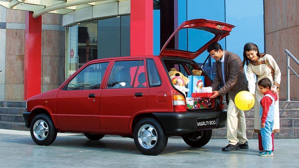 Maruti 800 utilitario india poco seguro