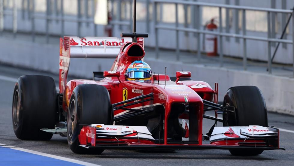 Los monoplazas de Fernando Alonso en la F1: Ferrari F138