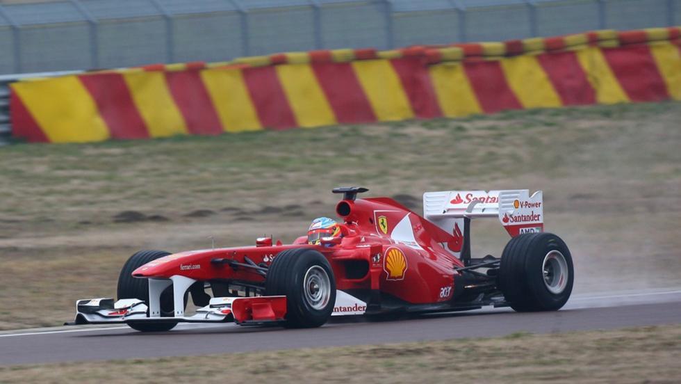 Los monoplazas de Fernando Alonso en la F1: Ferrari F150