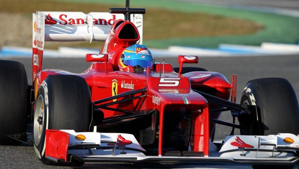 Los monoplazas de Fernando Alonso en la F1: Ferrari F2012