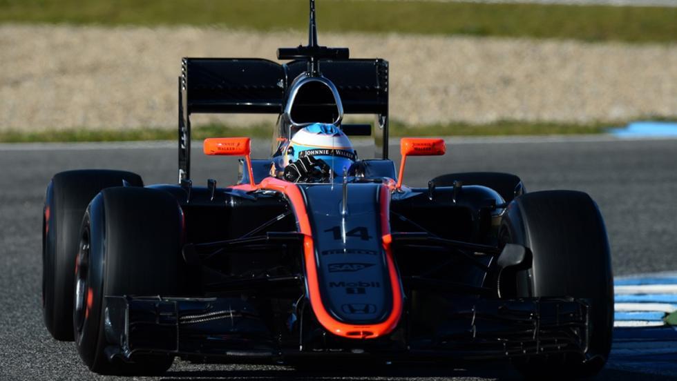 Los monoplazas de Fernando Alonso en la F1: McLaren MP4-31