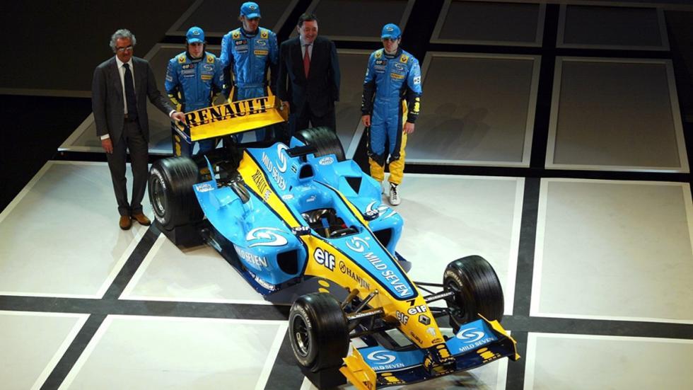 Los monoplazas de Fernando Alonso en la F1: Renault R24