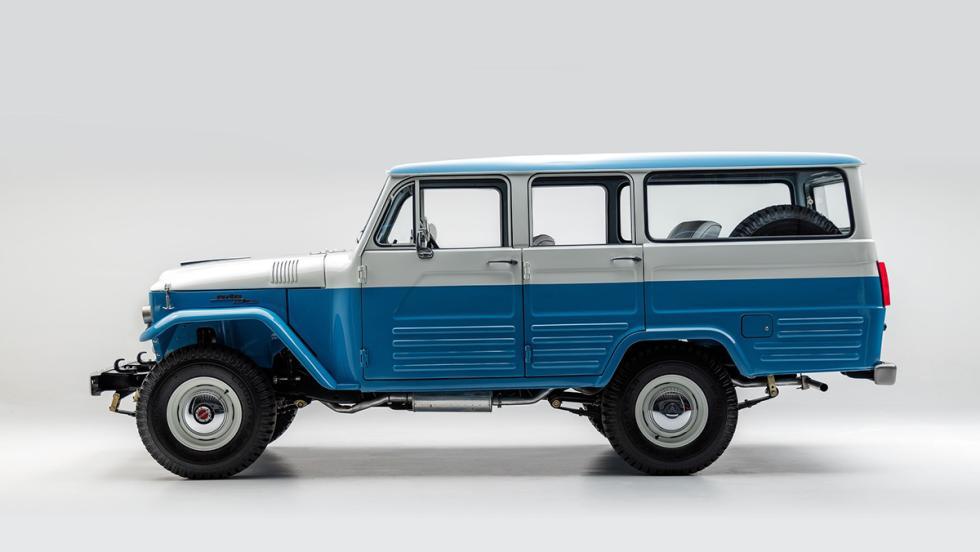 Un Toyota Land Cruiser de 1967 vuelve a la vida... ¡mejor que nuevo!