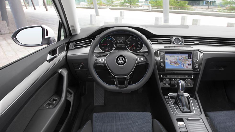 interior del Passat GTE y del Passat Variant GTE