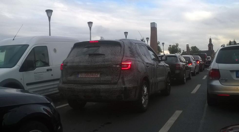 Renault Koleos, cazado
