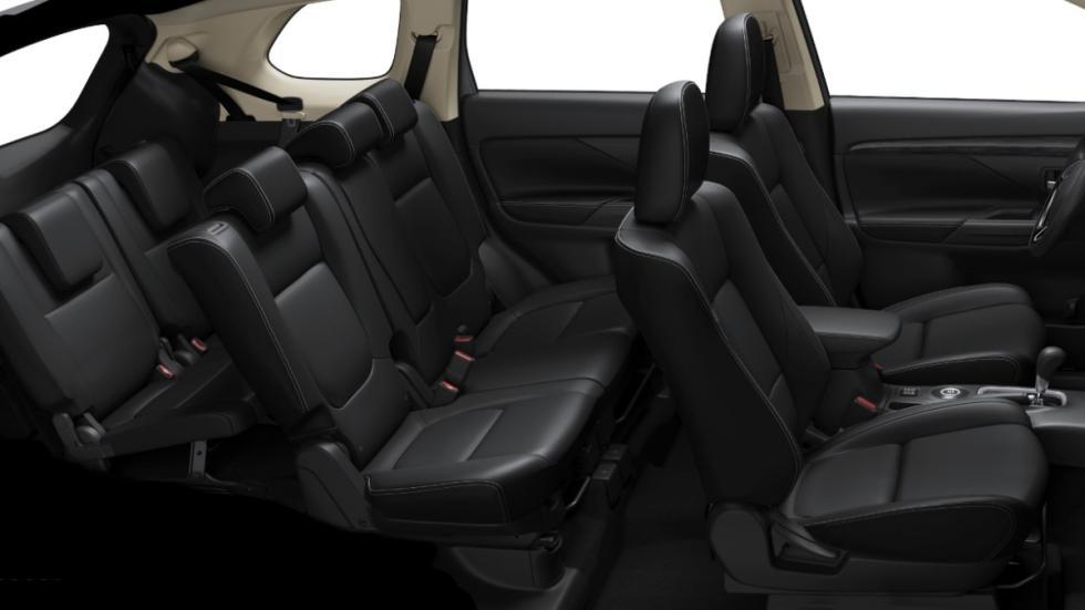 Mitsubishi Outlander 2016 asientos