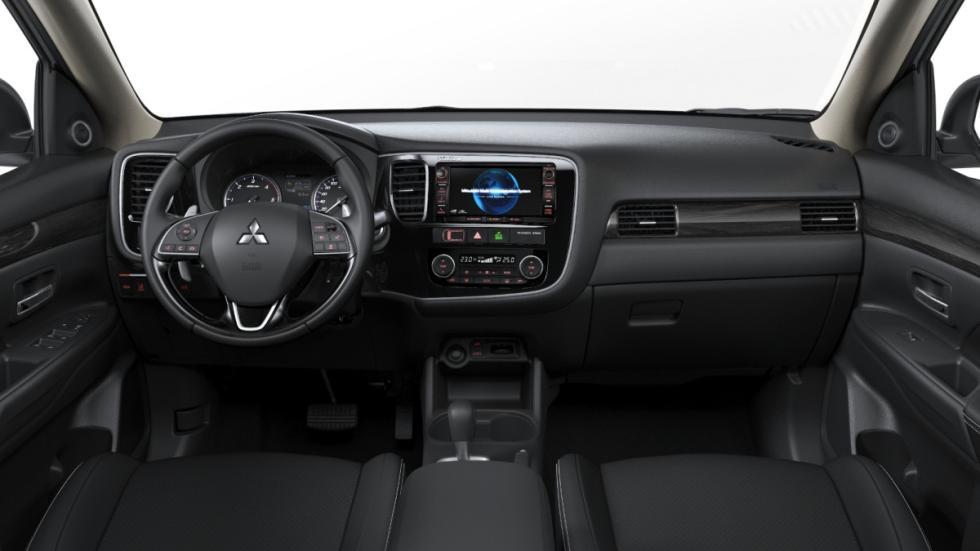 Mitsubishi Outlander 2016 salpicadero