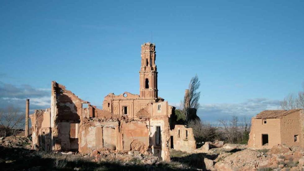 Belchite Lugares paranormales en España