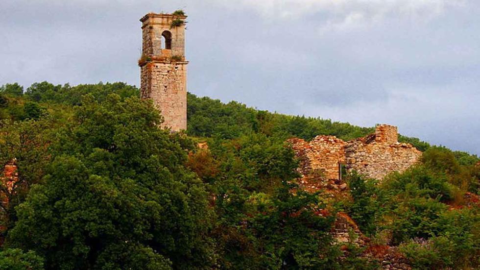 Ruinas de Ochate Lugares paranormales en España: