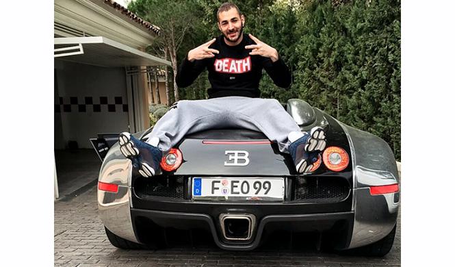coches Karim Benzema 2