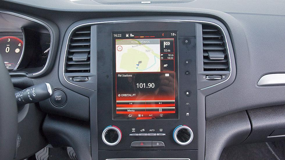 Prueba: nuevo Renault Mégane 2016 pantalla