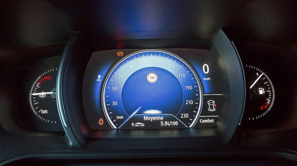 Prueba: nuevo Renault Mégane 2016 velocímetro azul