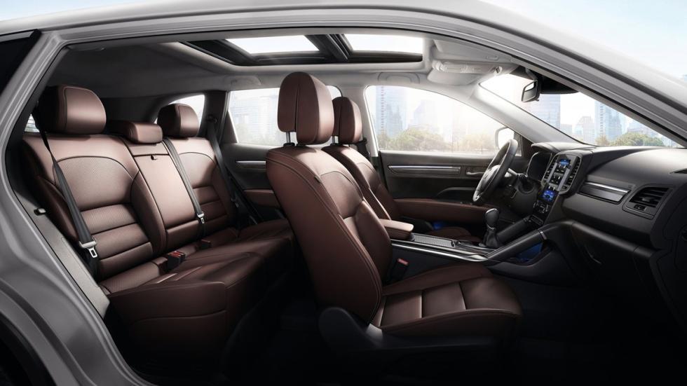 Renault Koleos 2017 habitáculo