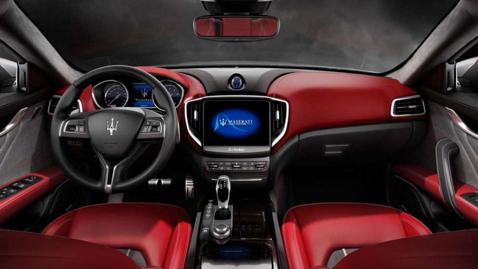 Maserati Ghibli 2017 ermenegildo zegna interior