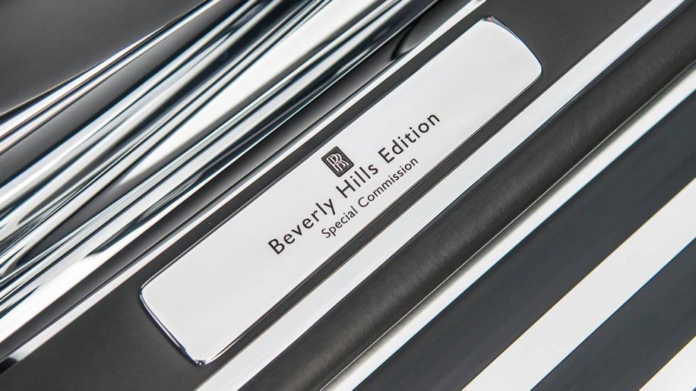 Rolls-Royce Phantom Drophead Coupé Beverly Hills Edition placa