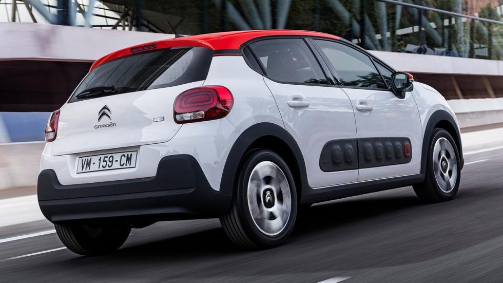 coches franceses éxito estados unidos Citroën C3 trasera