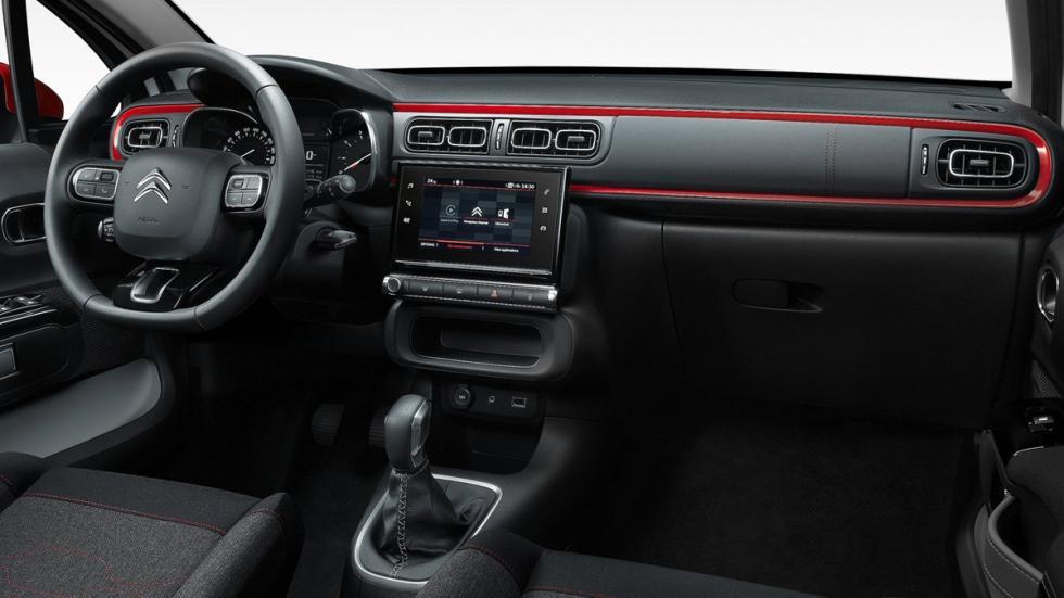coches franceses éxito estados unidos Citroën C3 interior