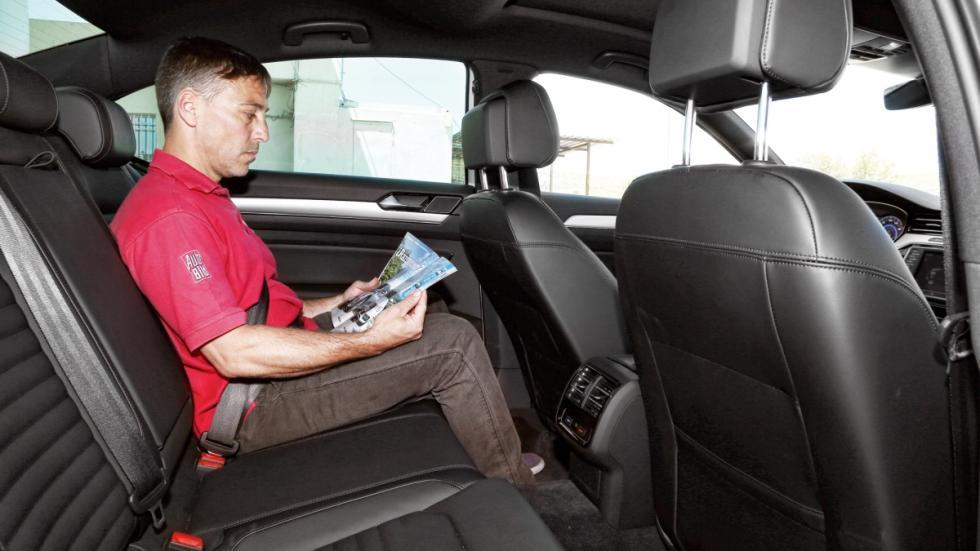 Passat GTE asientos