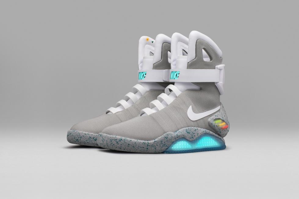 Zapatillas de Michael J. Fox en 'Regreso al Futuro'
