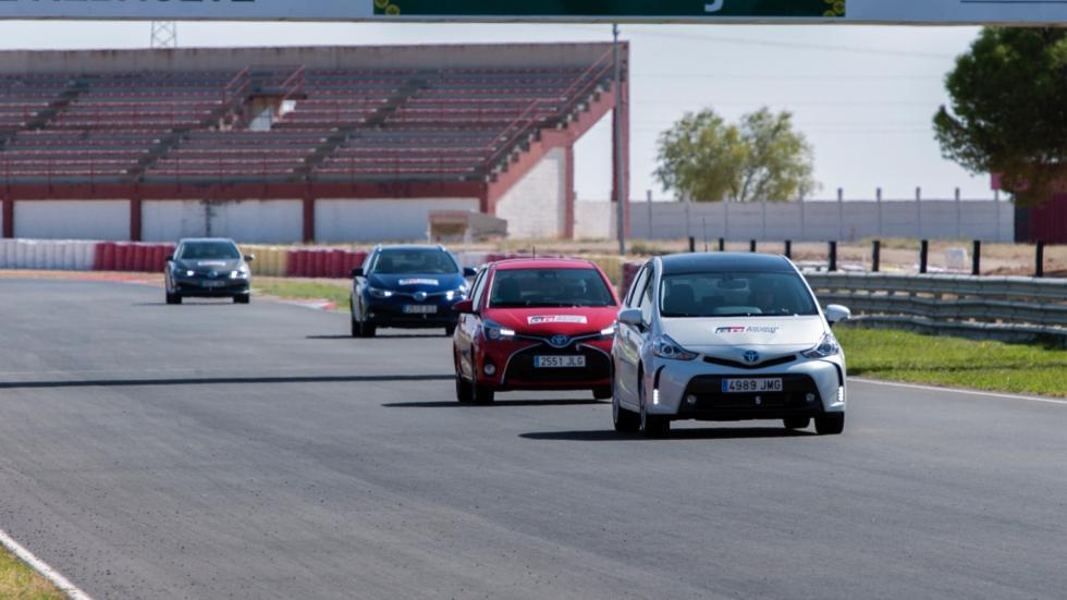 Yaris HD, Auris, Auris TS, Prius, Prius + y Rav4 Híbrido