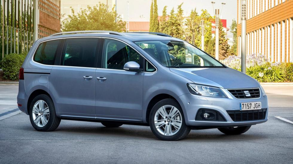 coches caben tres sillas infantiles Seat Alhambra