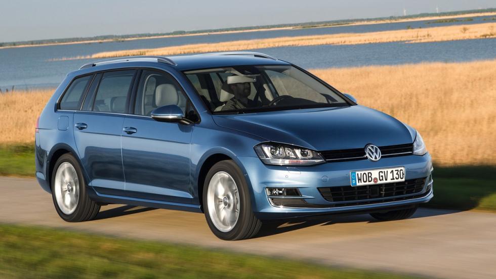 coches caben tres sillas infantiles Volkswagen Golf Variant