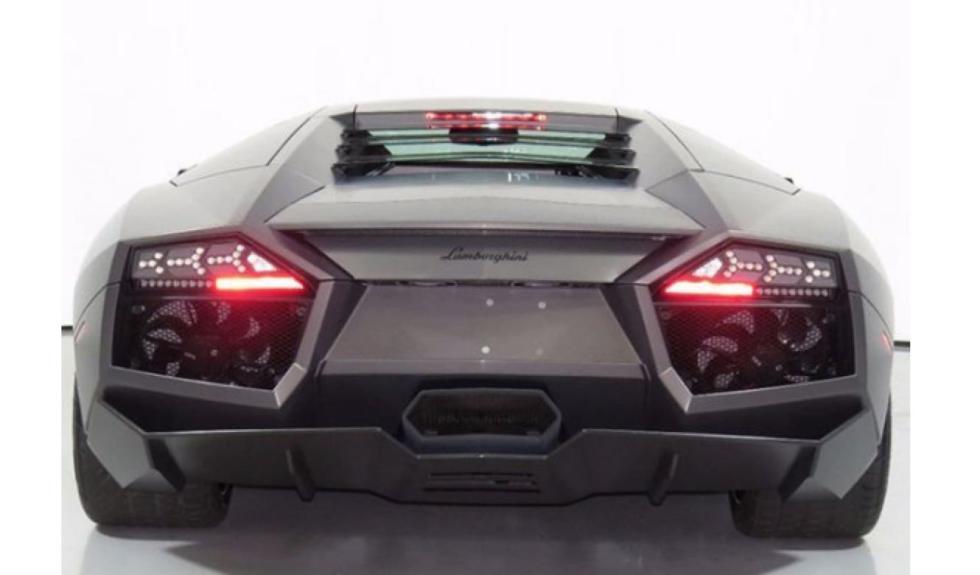 Lamborghini Reventón trasera