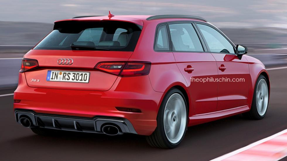 Audi RS 3 Sportback Theophilus Chin