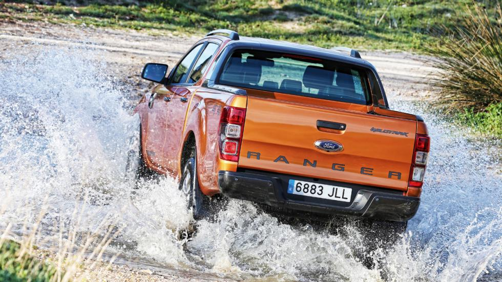 Ford Ranger Wildtrack dinamica