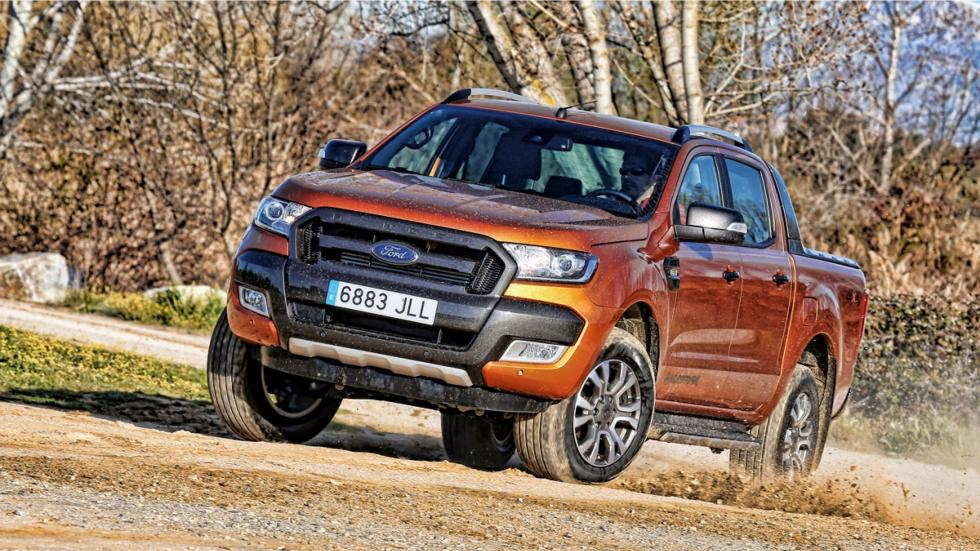Ford Ranger Wildtrack frontal