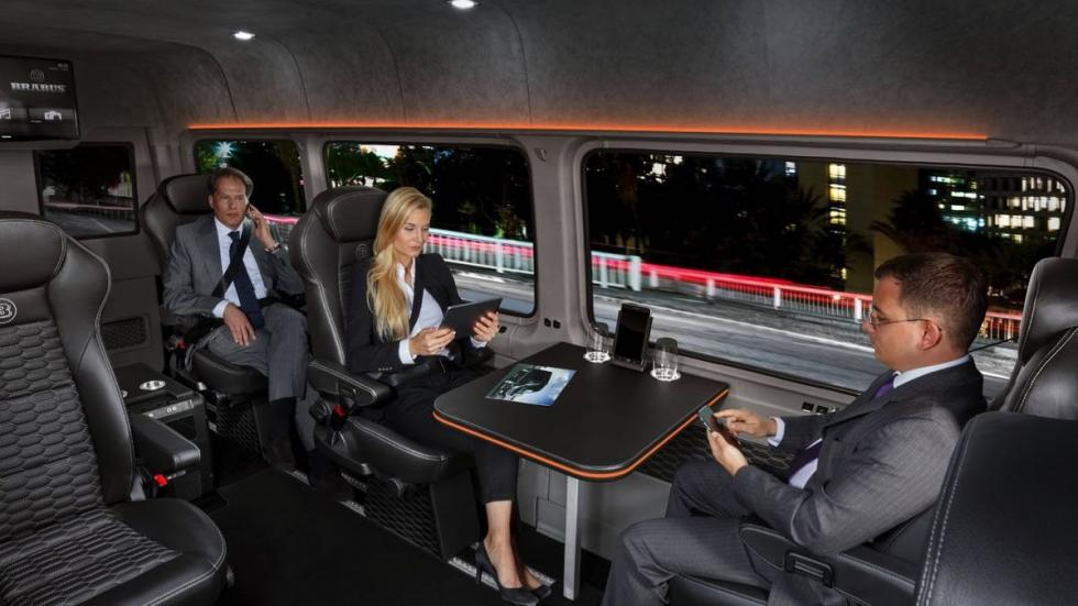 Brabus VIP Conference Lounge negocio