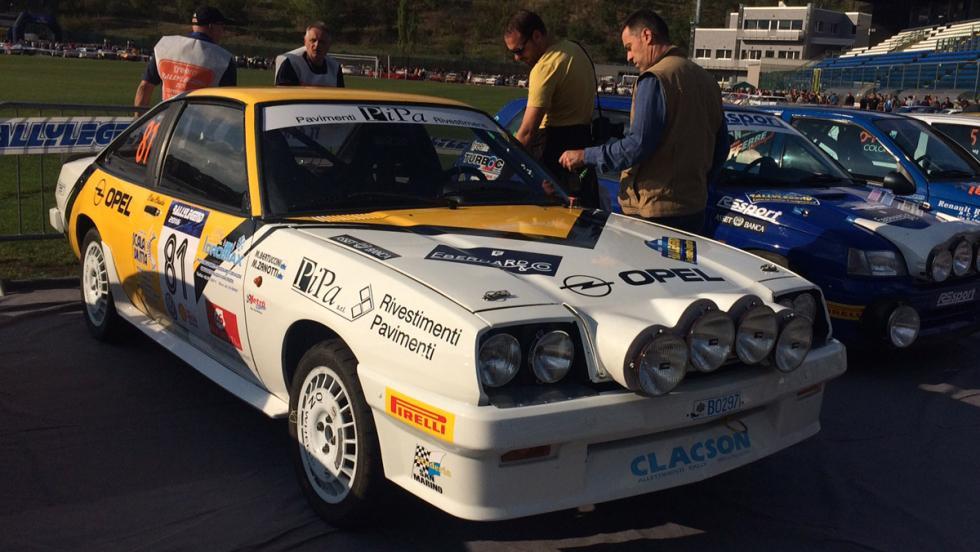 Rallylegend 2016: Opel Manta GTE (1984)
