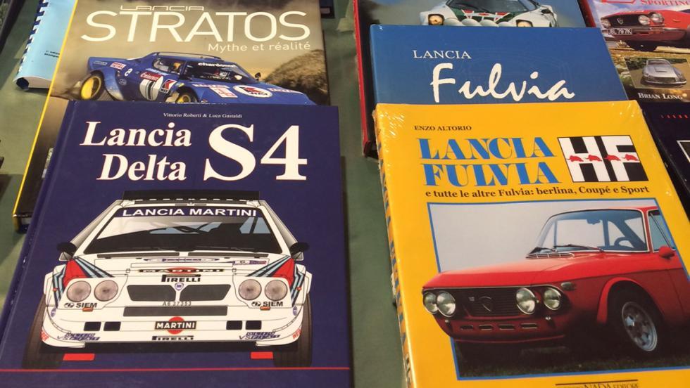 En el Rallylegends también puedes encontrar libros sobre tus modelos favoritos.