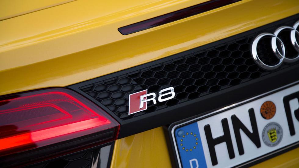 Prueba Audi R8 V10 Spyder 2017 rejilla