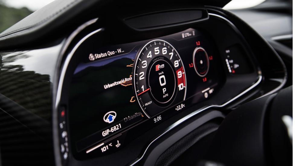 Prueba Audi R8 V10 Spyder 2017 virtual cockpit