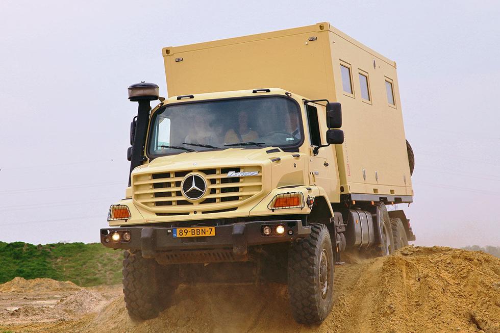 Al fin del mundo: Las autocaravanas 'offroad' más extremas