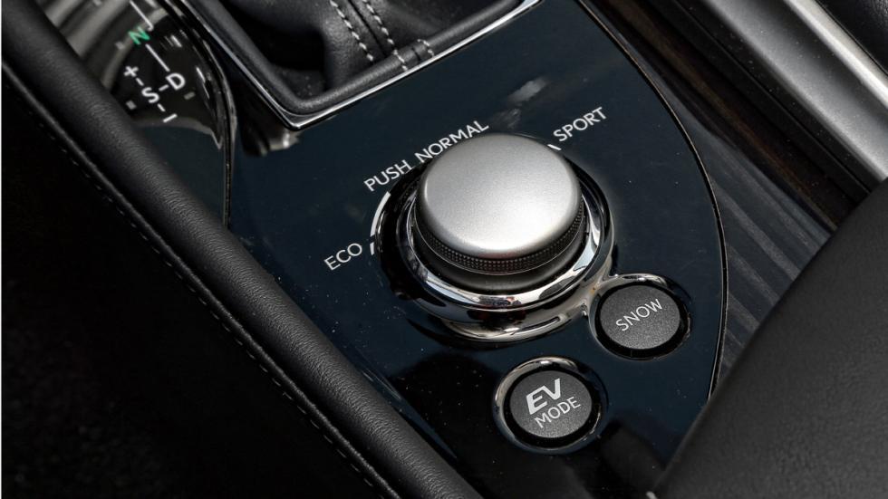 Modos de conducción del Lexus GS 300h