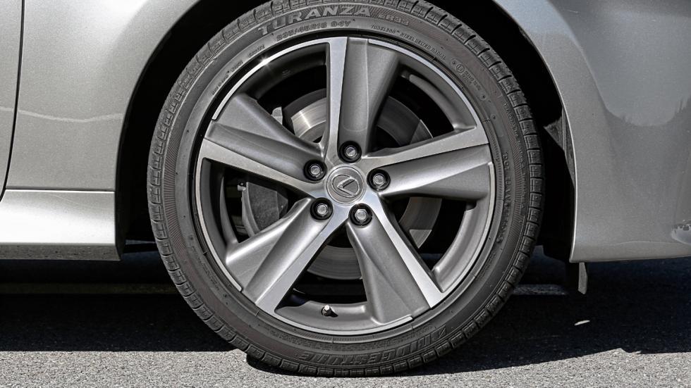 Llantas del Lexus GS 300h