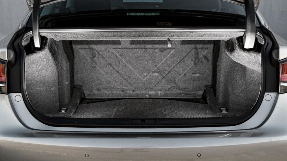 Maletero del Lexus GS 300h