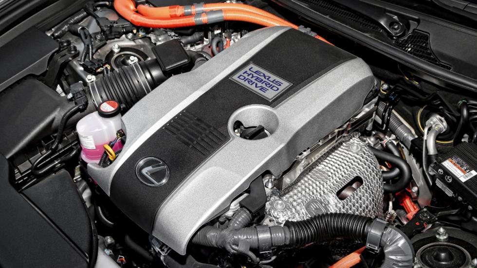 Bloque motor del Lexus GS 300h